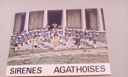 CARTE POSTALE MAJORETTES LES SIRENES AGATHOISES AGDE  34 HERAULT - Musique