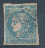 N°45 BORDEAUX BLEU CLAIR - 1870 Uitgave Van Bordeaux