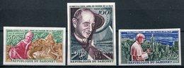 1966- DAHOMEY - PAPE PAOLO VI - 3 VAL.IMPERF. - M.N.H. -LUXE ! - Bénin – Dahomey (1960-...)