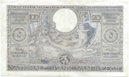 Banque Nationale De Belgique/ 100 Francs - 20 Belgas/ 1938       BILL137ter - 100 Francs & 100 Francs-20 Belgas