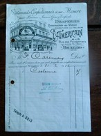 Oude Faktuur 1916 A L' AMéRICAIN   Bruxelles - 1900 – 1949