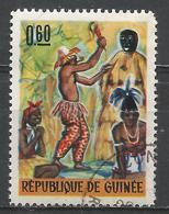 Guinea 1966. Scott #436 (U) Folk Dance * - Guinée (1958-...)