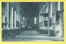 * Menen - Menin * (SBP, Nr 12) Intérieur De L'église, Binnenzicht Kerk, Church, Kirche, Chaire De Vérité, Autel, TOP - Menen