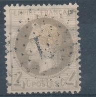 N°27 ETOILE DE PARIS CHIFFRE 1 - 1863-1870 Napoléon III Lauré