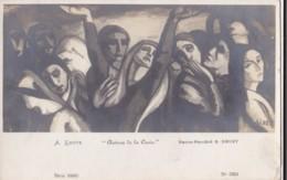 AS17 Art Postcard - Autour De La Croix By A Ihote - Schilderijen