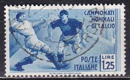 Regno D'Italia, 1934 - 1,25 Lire Mondiali Di Calcio - Nr.362 Usato° - 1900-44 Vittorio Emanuele III