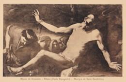 AS17 Art Postcard - Martyr De Saint Barthelemy By Ribera - Paintings