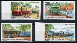 1968- DAHOMEY - POSTAL SERVICE - 4 VAL.IMPERF. - M.N.H. -LUXE ! - Bénin – Dahomey (1960-...)