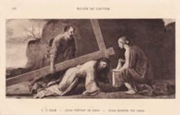 AS17 Art Postcard - Jesus Portant Sa Croix By Le Sueur - Paintings