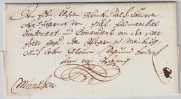 1757, München, Schnörkel-Bf. Kurfürst!  , #a1743 - Bayern