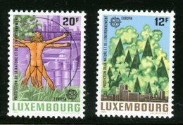 LUXEMBOURG - LEONARDO DA VINCI - UOMO VITRUVIANO - Nuovi MNH - Célébrités