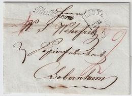 """1848, """" Rh. Baiern """" Lauterecken   , #a1744 - Bayern"""