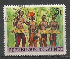 Guinea 1966. Scott #439 (U) Folk Dance * - Guinée (1958-...)