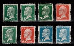 YV 170 à 177 N* Pasteur Cote 19,50 Euros - France