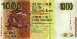 Hong Kong (SCB) 1000 HK$ (P301) 2012 -UNC - - Hong Kong