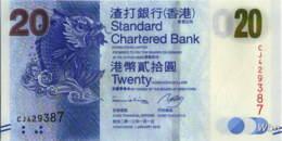 Hong Kong (SCB) 20 HK$ (P297) 2013 -UNC - - Hong Kong