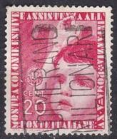 Regno D'Italia, 1937 - 20c Colonie Estive - Nr.407 Usato° - Usati