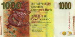 Hong Kong (SCB) 1000 HK$ (P301) 2010 -UNC - - Hong Kong