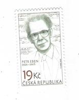 Czech Republic 2019 - Petr Eben, Composer Of Spiritual And Modern Classical Music, 1 Stamp, MNH - Musique