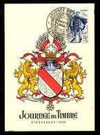 Journée Du Timbre 1950- STRASBOURG - Stamp's Day