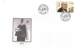 Year 2019 - Ilustrator And Artist Adolf Born,  FDC - Tchéquie