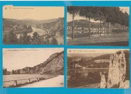 BELGIË Yvoir, Godinne, Mont Sur Meuse, Hastière, Freyr, Waulsort, Lot Van 60 Postkaarten. - Cartes Postales