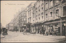 Rue Gambetta, Cherbourg, C.1920 - Becquemin-Roupsard CPA - Cherbourg