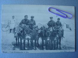 HEIST : Les Promenades à L'âne En 1900 - Heist