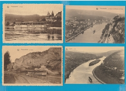 BELGIË Profondeville, Lustin, Vresse, Alle, Bohan, Walcourt, Namen, Lot Van 60 Postkaarten. - Postcards
