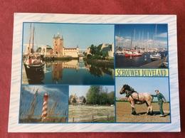Nederland. Pays-Bas. Holland. Schouwen-Duiveland ( Paard Cheval Horse Pferd Vuurtoren Boot ) - Andere