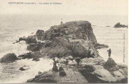 44  SAINT  MARC  SUR  MER    LE  ROCHER  DU  CHATEAU - Saint Nazaire