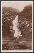 Falls Of Nevis, Glen Nevis, Fort William, Inverness-shire, C.1930s - RP Postcard - Inverness-shire
