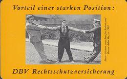 GERMANY K1281/93 DBV - Versicherungen - Buster Keaton - Comic - K-Series: Kundenserie