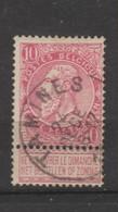 COB 58 Oblitéré TAMINES - 1893-1900 Schmaler Bart
