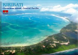 1 AK Kiribati * Christmas Island Now Kiritimati Island - Luftbildaufnahme * - Kiribati