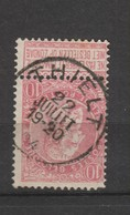 COB 58 Oblitéré THIELT - 1893-1900 Schmaler Bart