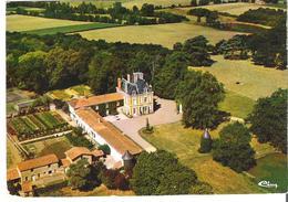 LANDEMONT. CP Vue Aérienne Le Château La Haye - France