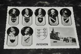4718   AVIGNON, PAPES AYANT REGNE - Avignon