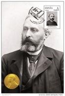 Spain 2015 - Nobel Prize 1901 - Literature - Sully Prudhomme/France Maxicard - Prix Nobel