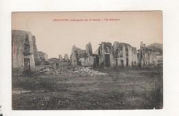 Arracourt Apres Quatre Ans De Guerre Vue Interieure - Frankreich