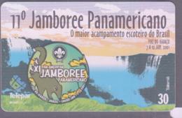 SCOUTS - BRAZIL -  2001- SCOUT JAMBOREE PHONECARD  30 UNITS UNUSED - Brazil
