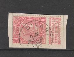 COB 58 Oblitéré DINANT - 1893-1900 Schmaler Bart