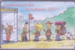 SCOUTS - LUXEMBOURG -  2007 - SCOUTS CENTENARY  PHONECARD 25 UNITS  UNUSED - Denmark