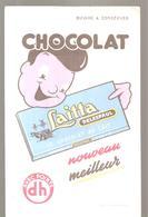 Buvard Laitta DELESPAUL LE CHOCOLAT AU LAIT Nouveau Meilleur - Chocolat
