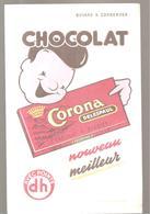 Buvard Laitta DELESPAUL LE CHOCOLAT A CROQUER Nouveau Meilleur - Chocolat