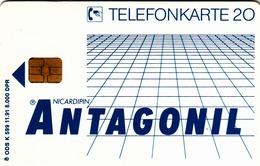 GERMANY - Antagonil Brunnengräber GmbH , K 0599-11/91 , 8.000 Tirage ,used - K-Series: Kundenserie