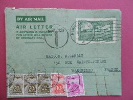 CARTE LETTRE Du PAKISTAN   -  Entier Postal Avec TAXES - Pakistan