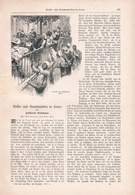 167 Kairo Ägypten Deutscher Adel 2 Artikel Mit 8 Bzw. 13 Bildern Von 1897 !! - Historische Dokumente