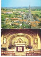 LE FUILET. 2 CP Vue Aérienne - La Chapelle Des Recoins (coin Haut Gauche Marqué Voir Scan) - France