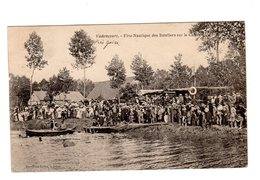CPA 02 - Vadencourt - Fête Nautique Des Bateliers Sur Le Canal - France